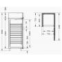 Холодильный шкаф универсальный Arkto V 0.7S  купить онлайн №6