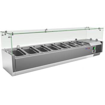 Витрина для топпинга VRX 1500/380 - Cooleq