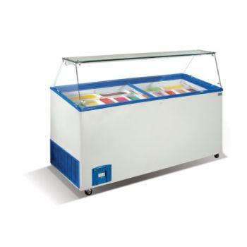 Ларь-витрина для мягкого мороженного Венус Витрина-56-Crystal