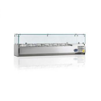Витрина для топпинга  SRV 1500/330 - Rauder