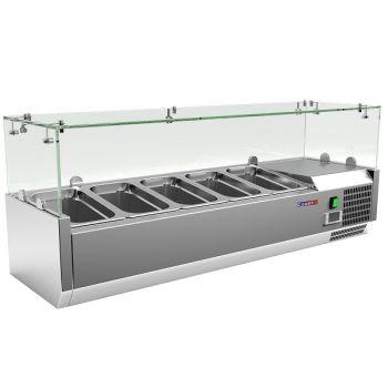 Витрина холодильная для топпинга VRX1200/330 - Cooleq