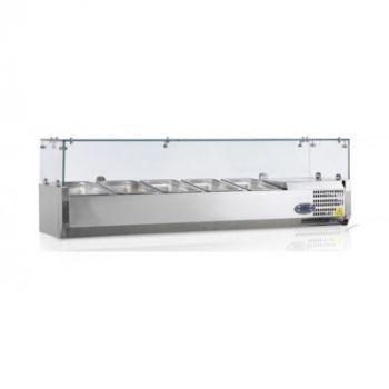 Витрина холодильная для топпинга VK33-120-Tefcold