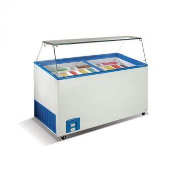 Ларь-витрина для мягкого мороженного Венус Витрина-46-Crystal