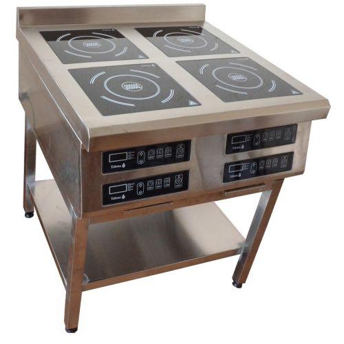Плита индукционная 4х конфорочная 3,5 кВт напольная (900 линия) - Tehma